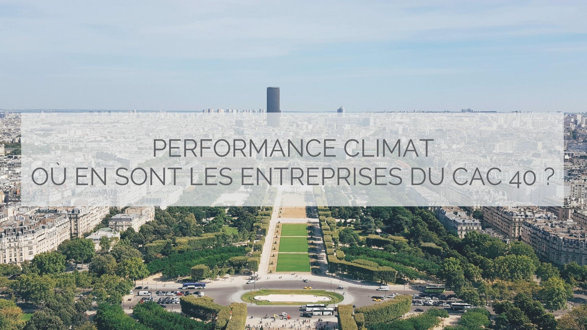 Performance climat  où en sont les entreprises du CAC 40 - image.jpg